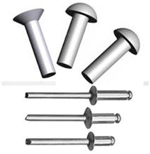 Steel, Aluminium, Stainless Steel Rivets